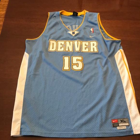7a58688625b Vintage! Carmelo Anthony Nike Denver Jersey MINT! M 5b397310c61777ec73280dfb